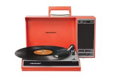 Crosley Spinnerette Portable Usb Turntable Red