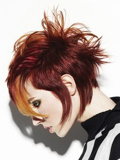 .Hmmmm...maybe new hair style for the fall?