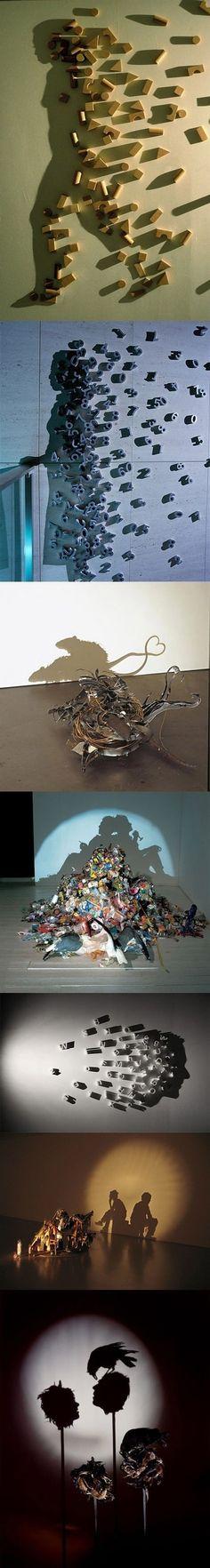 Incríveis montagens com sombras