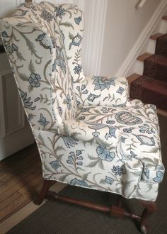 i want a wingback chair.