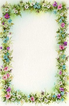 Free Flower Border Clip Art | we are here to witness the marriage ...