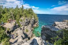 Indian Head Cove Tobermory Ontario