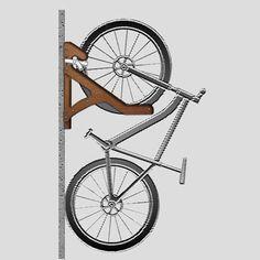 Diy Bike Storage Best Of Ergonomic No Lift Bicycle Storage Racks Store Your Beloved Two. Vertical Bike Storage, Bicycle Storage Rack, Bicycle Rack, Storage Racks, Scooter Storage, Diy Bike, Indoor Bike Rack, Wall Mount Bike Rack, Bike Storage Solutions