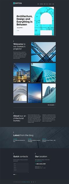 Architecture website inspirations at your coffee break? Browse for more WordPress #templates! // Regular price: $75 // Sources available:.PHP, This theme is widgetized #Architecture #WordPress