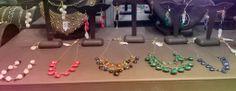 NEW gold & gold filled colored stone necklaces, bracelet & earrings  #chalcedony #bluesapphire #pearl #smokeyquartz #rubelite #watermelontourmaline #ruby #jewelry #fashion #coloredstones