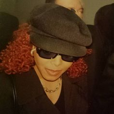 """""""That time I 'bumped' into Janet at Heathrow airport in 1997... #wbw #janetjackson #velvetrope #launchparty #london #janfam #oldphotos #janfam #unbreakable"""""""