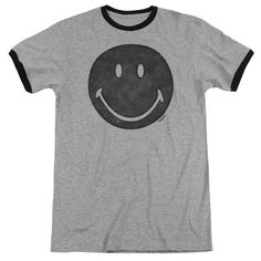 "Checkout our #LicensedGear products FREE SHIPPING + 10% OFF Coupon Code ""Official"" Smiley World / Rough Face - Adult Ringer - Smiley World / Rough Face - Adult Ringer - Price: $34.99. Buy now at https://officiallylicensedgear.com/smiley-world-rough-face-adult-ringer"