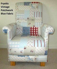 Chairs For Mum Nursery Decoration & Furniture Fryetts Abc Alphabet Fabric Adult Chair Patchwork Shabby Chic Nursery Armchair