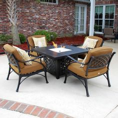 st martin 4 person resin wicker patio deep seating set by