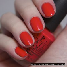 OPI My Paprika is Hotter than Yours www.chelseasgetnailed.com