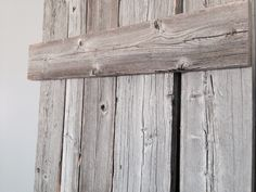 Naturally aged barn wood from the Okanagan, BC. Interior Barn Doors by GOATGEAR. Interior Sliding Barn Doors, Barn Wood, Texture, Crafts, Design, Surface Finish, Manualidades, Handmade Crafts, Craft