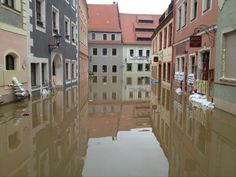 Floods in Pirna, Germany, June 2013 Posted by floodlist.com