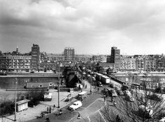 Rotterdam - Mathenesserbrug, 1958
