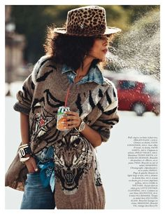Wild Cat with Anais Mali for Vogue Aug 2012