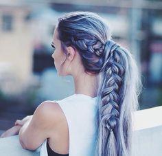 Pretty hair with braid