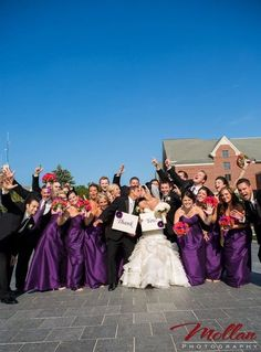 All of wedding party