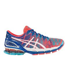 Another great find on #zulily! Hot Punch & White GEL®-Kinsei 5 Running Shoe by ASICS #zulilyfinds