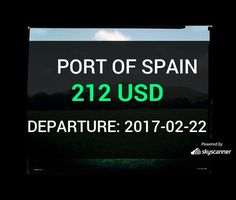 Flight from Orlando to Port Of Spain by Caribbean Airlines #travel #ticket #flight #deals   BOOK NOW >>>