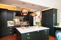 What Type of Splashback Would Go With a Green Kitchen? | Houzz UK Splashback, Green Kitchen, Kitchen Design, Furniture, Design Ideas, Interiors, Home Decor, Type