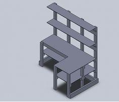 DIY corner desk | Corner Desk/shelf unit - Woodworking Talk - Woodworkers Forum