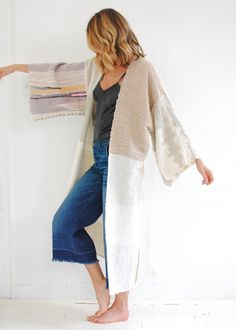Woven Kimono Jacket - Jess Feury
