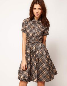 Asos_totally want a plaid dress this year