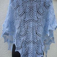 Letnia ażurowa chusta z bawełny