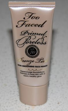 It's a beautiful combination and my skin feels like silk when I use this and my makeup seems to apply more evenly. I love this stuff. One of my fave primers.