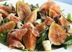 Fig, prosciutto and parmesan salad | Ways to treat a fig right | French cuisine | PARIS HUES
