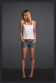 SO adorably hot. Ashley Perich for Gilly Hicks summer '12