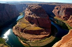 In pictures: bend: Colorado river