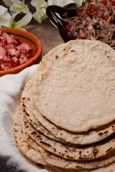 Guatemalan tortillas, homemade tortillas are easier than you think. YUM! Get the recipe at http://www.internationalcuisine.com and join the culinary journey around the world, it's free!