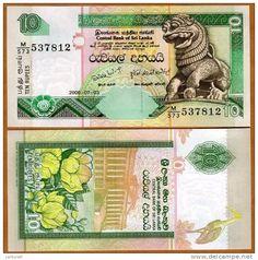 Sri lanka Ceylon Rs 10 Bank Note