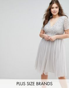 Order Maya Plus Cap Sleeve V Neck Midi Dress With Tonal Delicate Sequins online today at ASOS for fast delivery, multiple payment options and hassle-free returns (Ts&Cs apply). Get the latest trends with ASOS. Plus Size Wedding Guest Dresses, Bridesmaid Dresses Plus Size, Plus Size Dresses, Plus Size Outfits, Lace Bridesmaids, Maya, Formal Dresses With Sleeves, Short Dresses, Curvy Fashion
