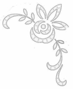 Cutwork Embroidery, Embroidery Fashion, Hand Embroidery Patterns, Lace Patterns, Vintage Embroidery, Beading Patterns, Embroidery Stitches, Machine Embroidery Projects, Quilling Patterns
