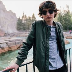 Hey look its Finn wolfhard from Finn wolfhard talk time the show where they talk time talk time