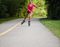 Learn to Roller Skate Faster.  Simple, basic steps that I tend to forget, especially the part about gliding and balancing.