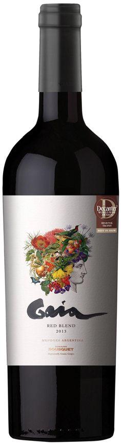 """""""Gaia Red Blend"""" 50% malbec / 45% syrah / 5% cabernet sauvignon 2013 - Bodega Domaine Bousquet, Tupungato, Mendoza------------------Terroir: Gualtallary (Tupungato)-----------Crianza: 10 meses en barricas de roble francés #taninotanino"""
