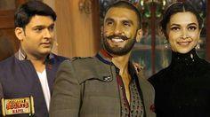Comedy Nights With Kapil: Ranveer & Deepika Promote Bajirao Mastani On Kapil's Show