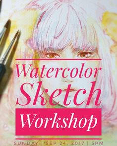 Hello there!  I'm going to teach watercolor sketching today Sep 24 2017!  This is for all ages. Have a great bonding time with your little ones or with friends who want to learn!  Join us and learn sketching doesn't have to be perfect just fun #thecraftcentralbday @thecraftcentral  Also I'm selling art prints and original paintings here too. Visit us at 3F Greenbelt 5 Makati City. My works will be on display until Monday. And the workshop is just for today Sunday 5-6 pm Learn Sketching, Learn To Sketch, Makati City, Just For Today, Watercolor Sketch, Selling Art, My Works, Original Paintings, Workshop