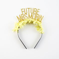 Custom Party Up Top Headband | Brit + Co. Shop | DIY Online classes, DIY kits and creative products from makers you'll love.