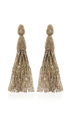 earrings (OSCAR DE LA RENTA)