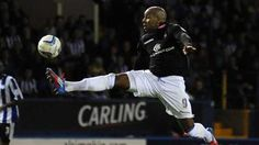 Marlon King in action at Hillsborough. August 2012.