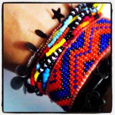 #bracelet #bileklik #handmade #handmadeart #elyapımı #handmadeaccessories #tasarım #takı #peyote #ankara #eryaman #tasarım #takılar #bileklikler #beadbracelet #beadloom #nativeamerican #satış #takas #sale WhatsApp 05423876252 / DM