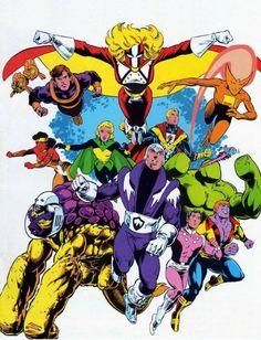 Legion of Super Heroes Members   Legion of Super-Heroes