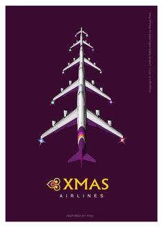 Thai Airways : we wish you a merry christmas !