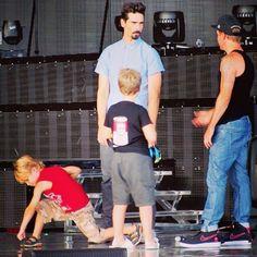 Mason, Kevin, Baylee and Brian