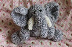 Download Now  CROCHET PATTERN  Mr. Elephant  Amigurumi