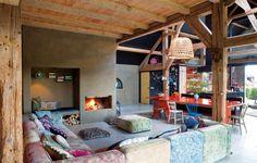 interior-dutch-house-country-style Переделанный амбар