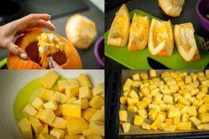 Farfalle z dynią i orzechami – Zjadamy nasze dekoracje! Cantaloupe, Fruit, Food, Essen, Meals, Yemek, Eten
